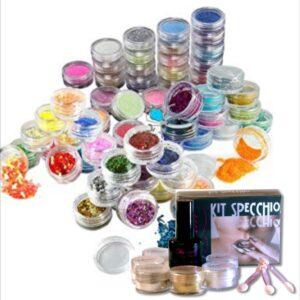 Glitter, Microperline e Polveri Specchio